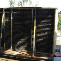 Danos estruturas dos Postes da Zona 2 do Forno de Aquecimento de Placas – LQT