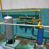 Instalação de gás natural