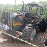 Trator Agrícola Valtra BH210i – Incêndio