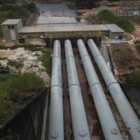 Vazamento em Usina Hidrelétrica